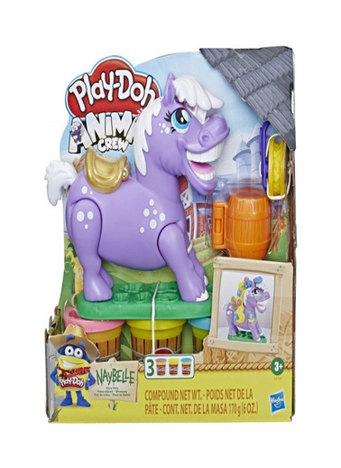 Play-Doh  Animal Crew Naybelle Showpony E6726 Renkli